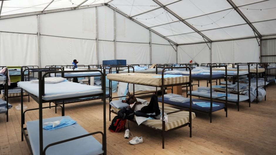 Flüchtlinge Erstaufnahme