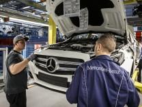 Mercedes-Benz C-Klasse Produktion