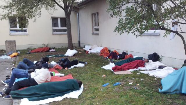 Flüchtlinge in München Flüchtlinge in München