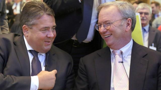 Gabriel triff Obama-Berater Schmidt