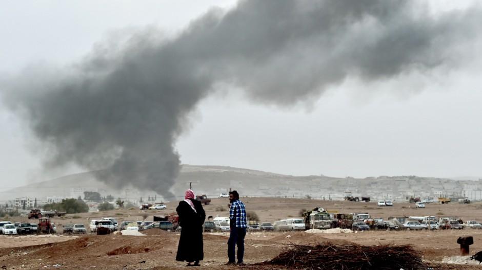 Islamischer Staat Kampf gegen IS in Syrien und Irak