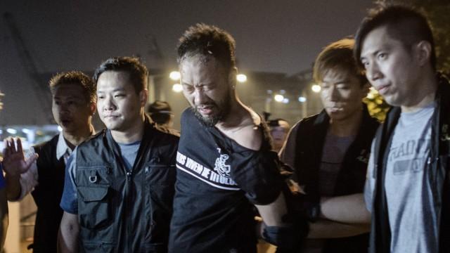Proteste in Hongkong Proteste in Hongkong
