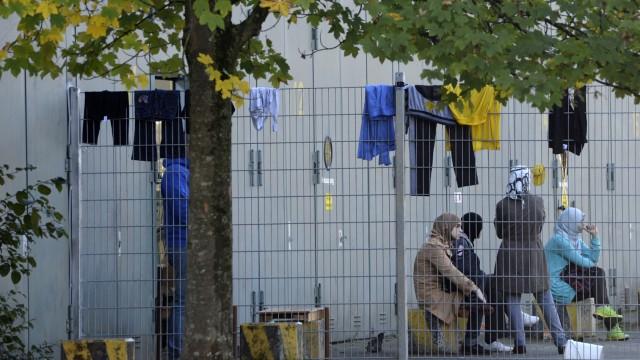 München Flüchtlinge in Not