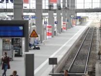 Streik der Lokführer In München sind Fußballfans und Geschäftsleute besonders betroffen