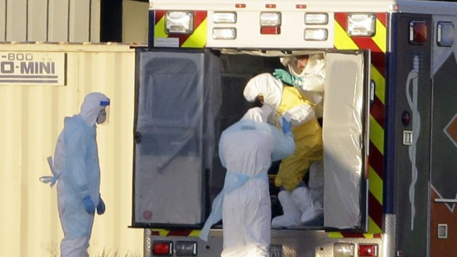 Ebola Reaktion auf Ebola in Amerika