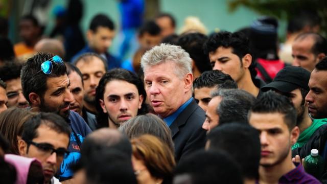 Flüchtlinge in München Dieter Reiter