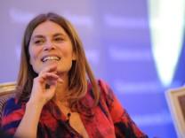 Sarah Wiener auf dem Führungstreffen Wirtschaft in Berlin, 2012