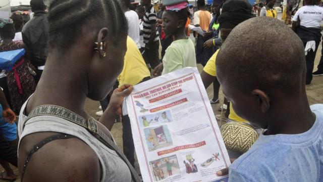 Ebola Kampf gegen Ebola