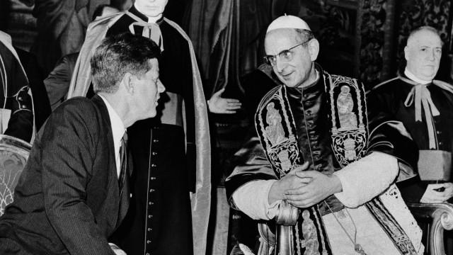 John F. Kennedy, Pope Paul VI
