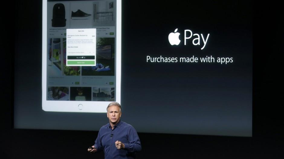 Apple Pay, iPhone, Phil Schiller, Produktpräsentation, Bezahldienst