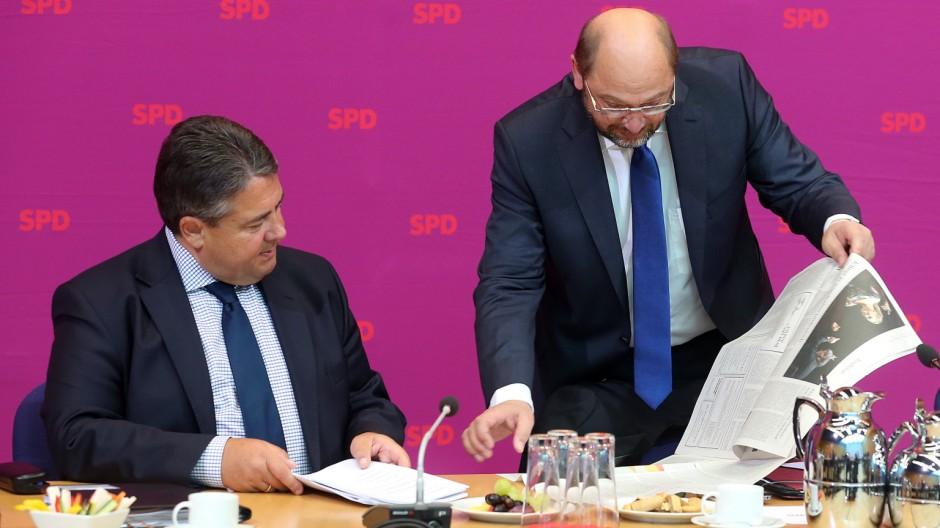SPD-Vorstandssitzung