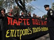 Streiks in Griechenland, Foto: AP