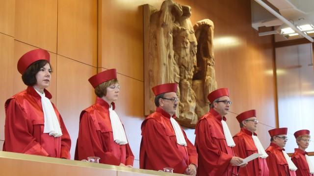 Bundesverfassungsgericht - Urteil zu Rüstungsexporten