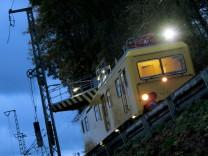 Bahnschäden nach Sturm in Bayern