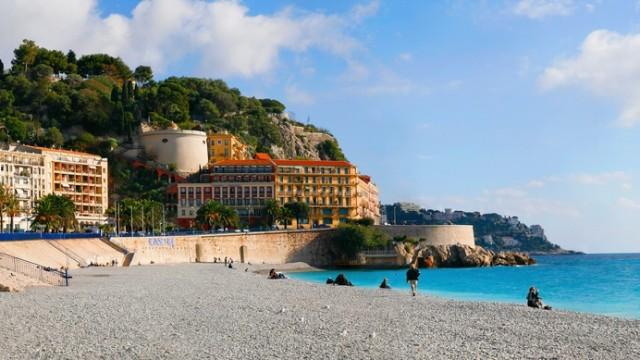 plage ne Nice; Nizza, Frankreich