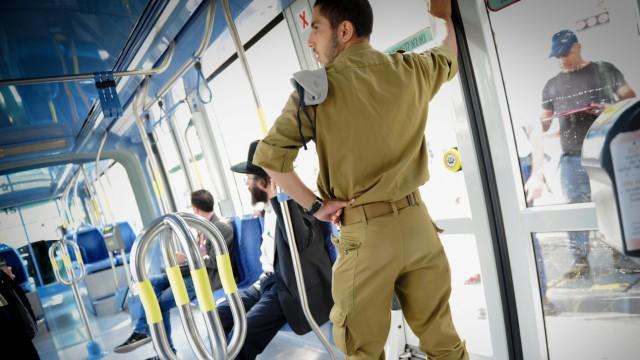 Nahostkonflikt Tram durch Jerusalem