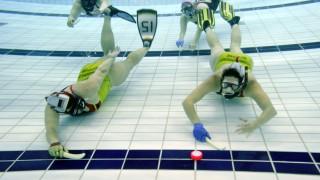Sport in der Region Unterwasser-Hockey