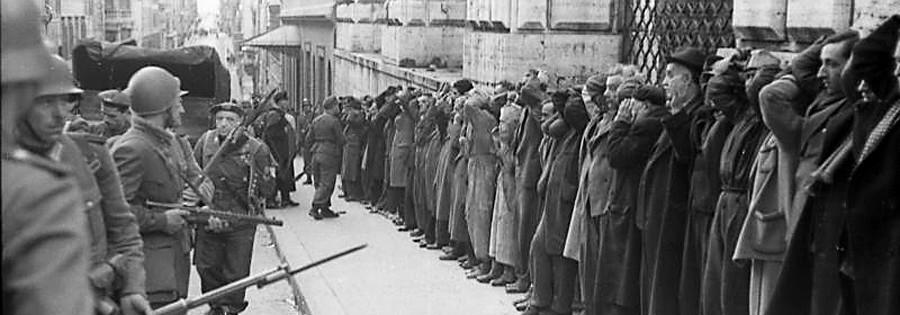 Rom, Festnahme von Zivilisten, Nazi-Verbrechen