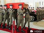 Maria Lech Kaczynski Sarg Smolensk, dpa