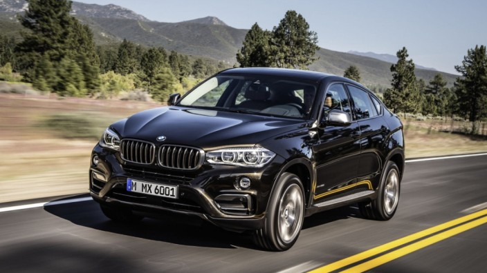 Der neue BMW X6.