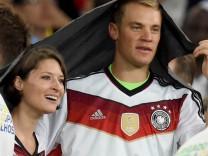 Manuel Neuer und Kathrin Gilch