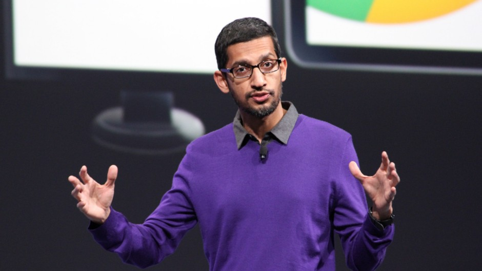 Google-Topmamanger Sundar Pichai