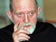 DDR-Volksschriftsteller Erwin Strittmatter im Jahr 1992, dpa