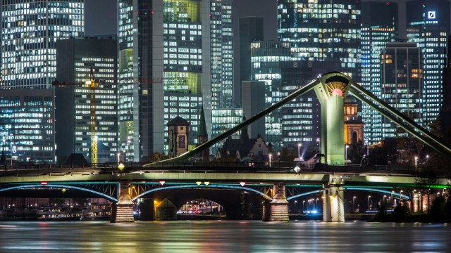 Frankfurt beleuchtet
