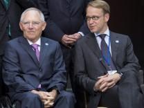 Weidmann und Schäuble
