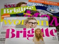 Frauenzeitschrift Brigitte feiert Jubiläum