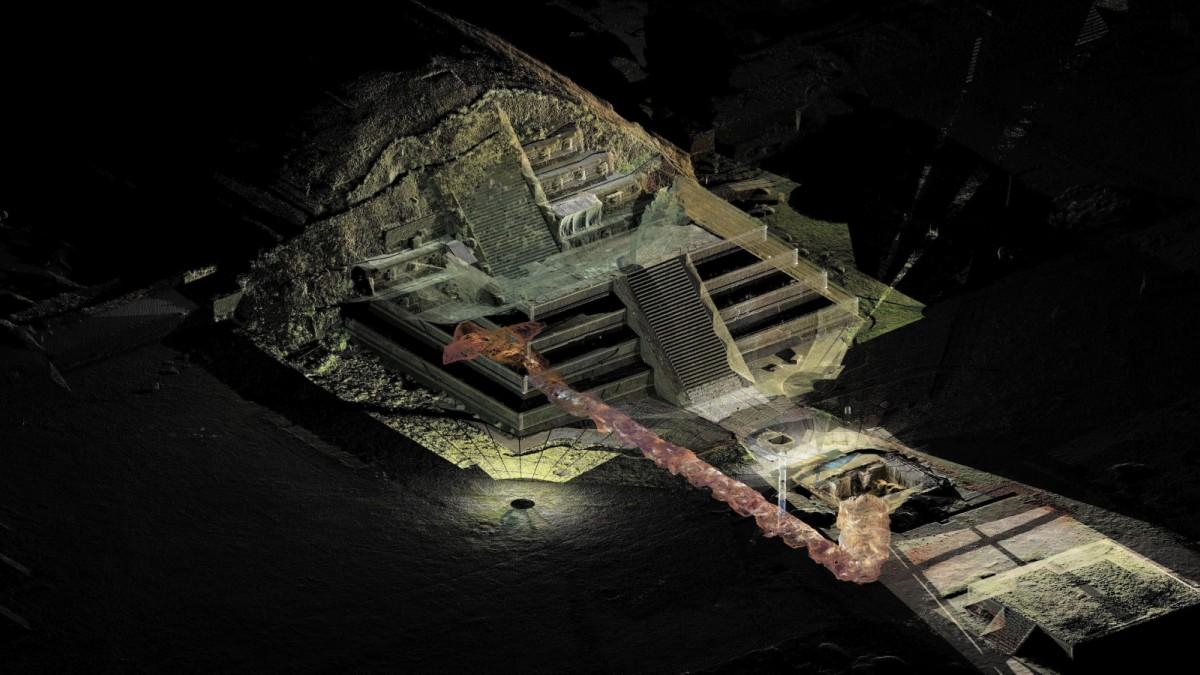 Tunnel zur Unterwelt der Herrscher