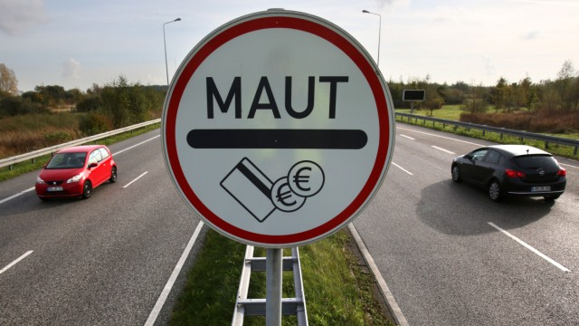 Gesetzentwurf für Pkw-Maut erwartet