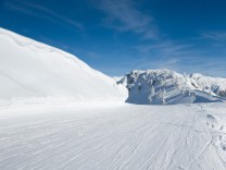 Montafon, Skipiste in Österreich, Alpen