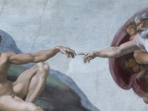 Sistine Chapel with new LED lighting