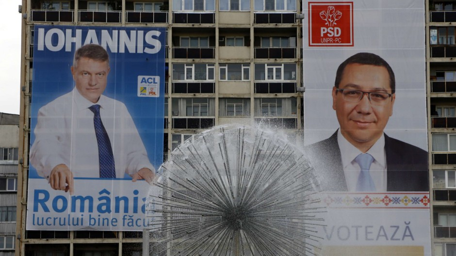 Wahl in Rumänien: Victor Ponta und Klaus Iohannis
