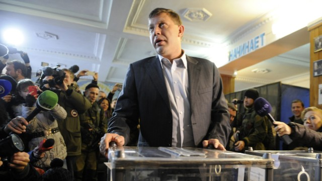 Wahl in der Ukraine Ostukraine