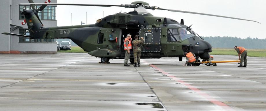 Hubschrauber NH90 der Bundeswehr