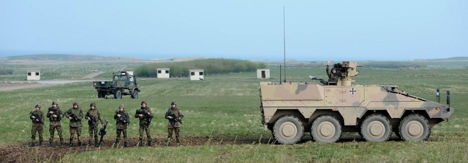 Vorstellung von Hauptwaffensystemen des Heeres