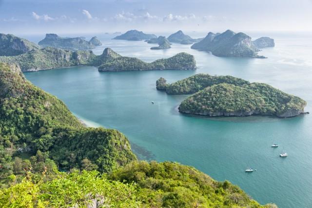 Ko Samui, Segeln im Golf von Thailand