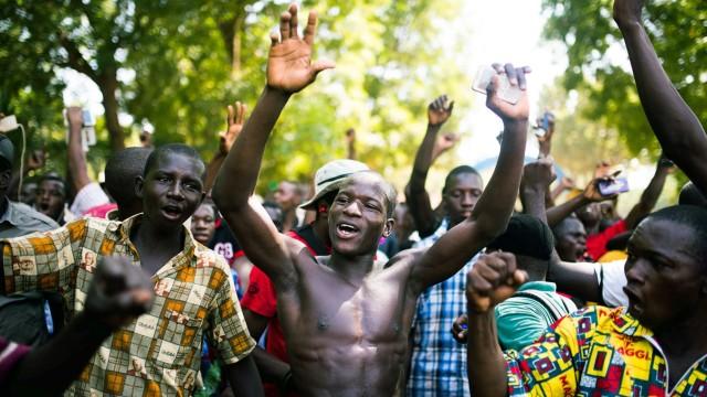 Burkina Faso Proteste in Burkina Faso