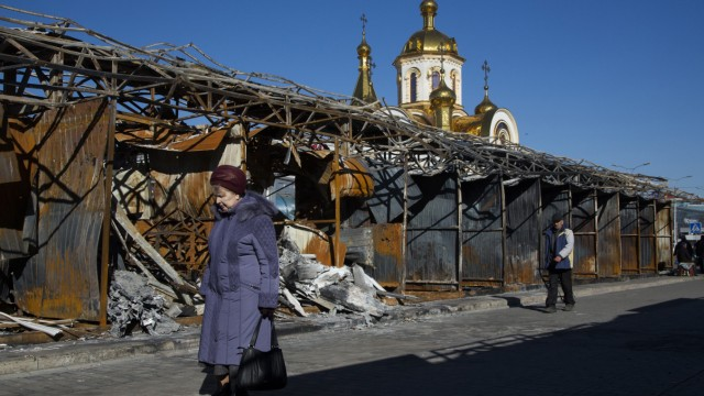 Ukraine Donbass Donetsk Separatisten