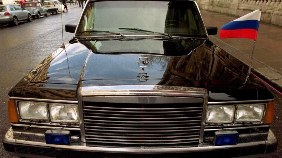 Wladimir Putins gepanzerte ZIL-Limousine
