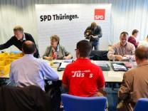 Auszählung der Mitgliederbefragung der SPD