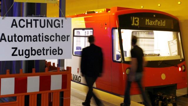Erste vollautomatische U-Bahn in Nürnberg