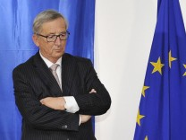 141030 BRUSSELS Oct 30 2014 EU Commission President elected Jean Claude Juncker ponders du