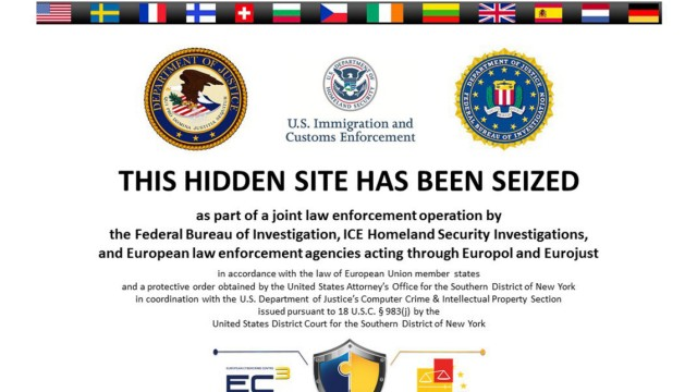 The homepage to alleged Silk Road 2.0 website is seen in a screenshot after it was closed by U.S. authorities