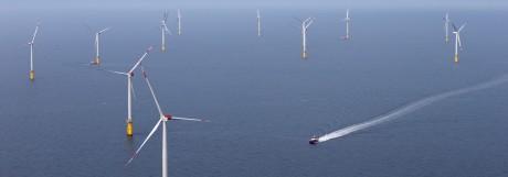 Offshore Windpark in der Nordsee