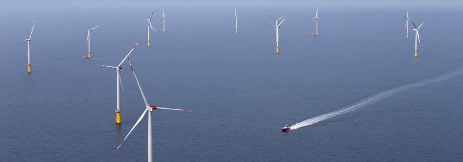 Offshore Windpark in der Nordsee