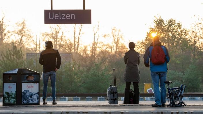 Lokführerstreik - Uelzen