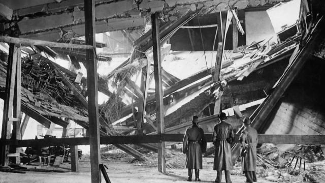 Bürgerbräukeller nach dem Hitler-Attentat, 1939